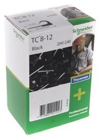 Schneider Electric Cable Clamps 8-12 Black 100pcs