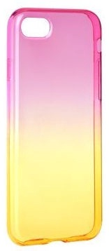 Mocco Gradient Back Case For Xiaomi Redmi 4X Pink/Yellow