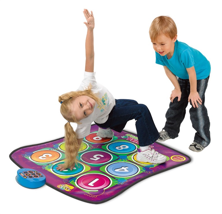 Interaktīva rotaļlieta Zippy Mat Dancing Challenge