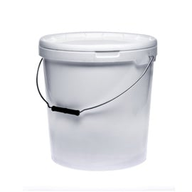 SN Bucket For Food With Cover 20l White
