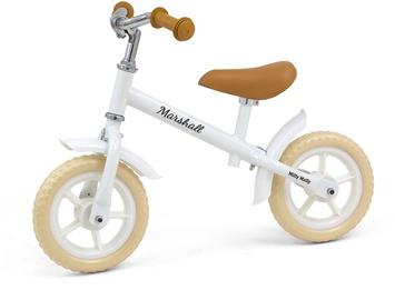 Līdzsvara velosipēds Milly Mally Marshall White