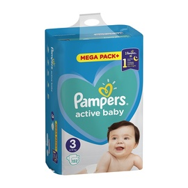 PAMPERS ACTIVE BABY S3 152 GAB MB