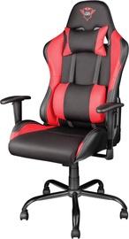Spēļu krēsls Trust Resto GXT 707, sarkana