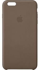Apple Case for iPhone 6 Plus Leather Olive Brown