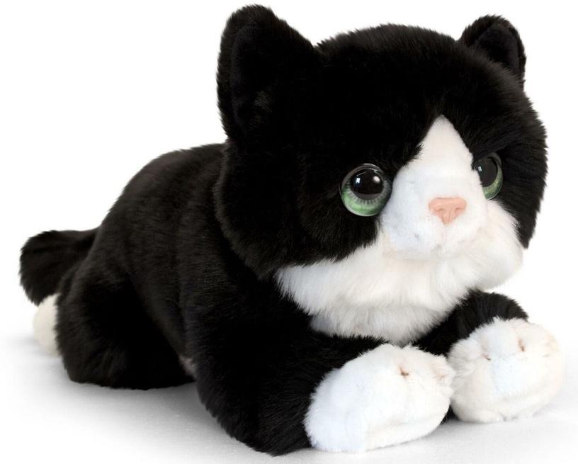 Mīkstā rotaļlieta Keel Toys Cuddle Kitten Black, 32 cm