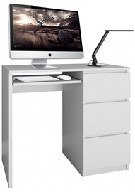 Письменный стол Top E Shop Lima Right, белый