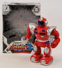 Rotaļu robots Tommy Toys Super Robot II 211414