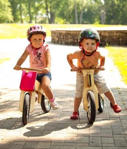 Балансирующий велосипед MGS FACTORY DipDap Pink Spring Mini