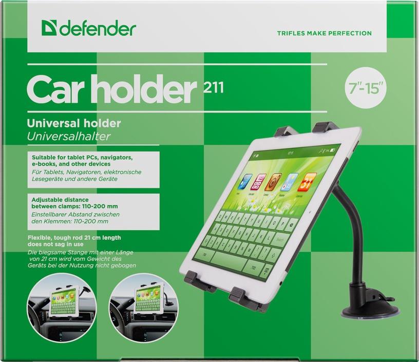 Defender 211 Car Holder Black