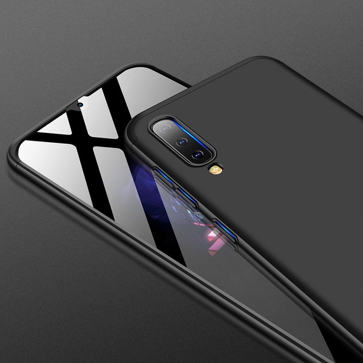GKK 360 Protection Case For Samsung Galaxy A70 Black