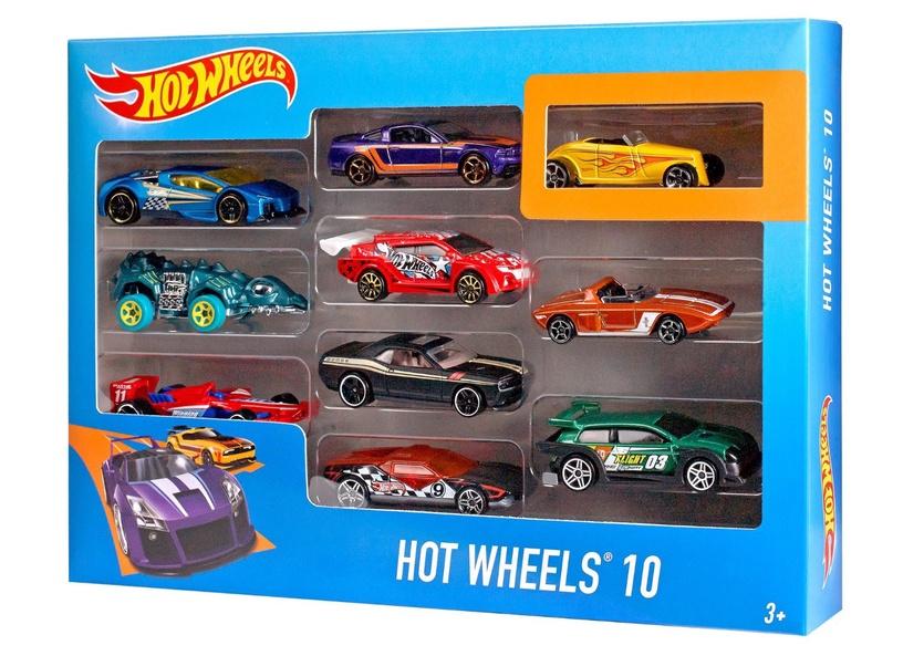 Набор Mattel Hot Wheels Cars 10-Pack 54886
