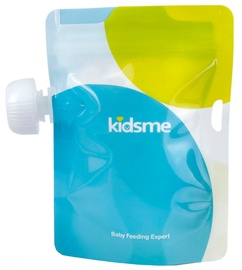 Kidsme Reusable Food Pouch 4x180ml