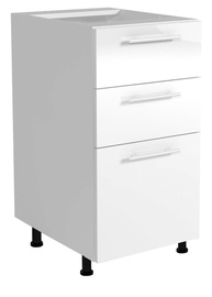 Halmar Kitchen Bottom Cabinet Vento D3S 40/82 White/Light Grey