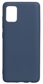 Evelatus Soft Touch Back Case For Samsung Galaxy A41 Blue