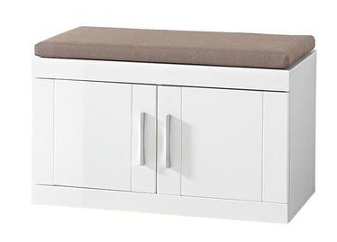 Шкаф для обуви Black Red White Boca White, 800x400x460 мм