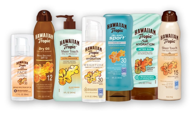 Hawaiian Tropic Protective Sun Spray Lotion SPF8 200ml