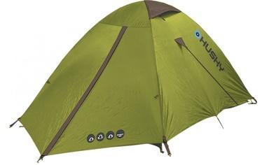 2-местная палатка Husky, зеленый