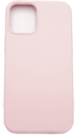 Evelatus Silicone Back Case With Bottom For Apple iPhone 12/12 Pro Pink
