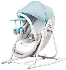 Детская кроватка - качели KinderKraft Unimo Light Blue