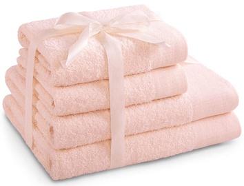 Полотенце AmeliaHome Amari 23876 Pink, 70x140 см, 4 шт.