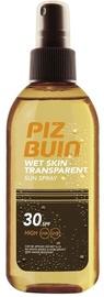 Sauļošanās sprejs Piz Buin Wet Skin Transparent SPF30, 150 ml