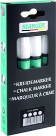 Stanger Chalk Marker 3-5mm 4pcs White 620000