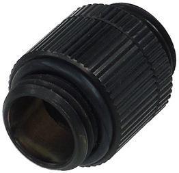 Alphacool HF Double Nipple Revolvable G1/4 Black