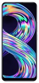 Мобильный телефон Realme 8, серебристый, 6GB/128GB