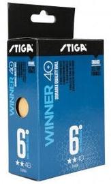Мячик для настольного тенниса Stiga Winner, 40 мм, 6 шт.
