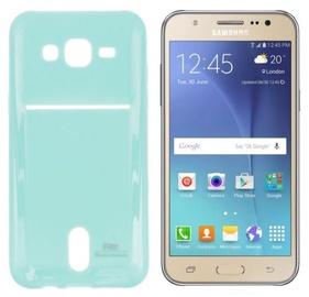 Roar Pocket Jelly Case For Samsung J500F Galaxy J5 Light Blue