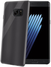 Celly Gelskin Back Cover For Samsung Galaxy Note 7 Black