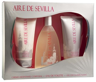 Instituto Español Aire De Sevilla 150ml EDT + 150ml Scrub Gel + 150ml Body Cream
