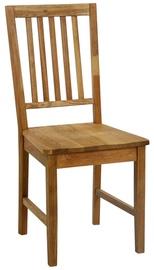 Ēdamistabas krēsls Home4you Gloucester Oak 19954, 1 gab.