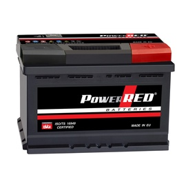 Akumulators Power Red LB3, 80 Ah, 720 A, 12 V