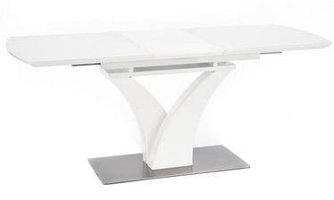Pusdienu galds Halmar Palermo White Matt, 1400x800x750 mm