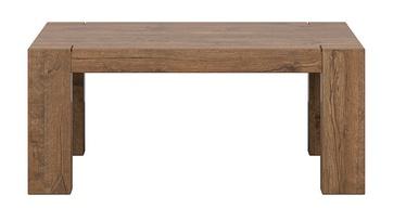 Kafijas galdiņš Black Red White Rectangle April Oak, 1100x680x485 mm