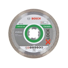 Bosch X-Lock 2608615138 Ceramic Diamond Cutting Disc 125x1.6mm
