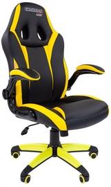 Игровое кресло Chairman Game 15 Black/Yellow