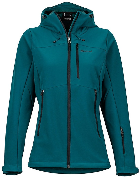 Marmot Womens Moblis Jacket Deep Teal/Black S