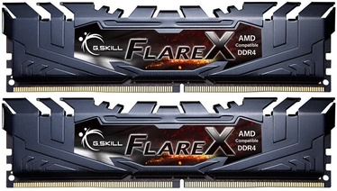 G.SKILL FlareX 16GB 3200MHz CL14 DDR4 DIMM KIT OF 2 F4-3200C14D-16GFX