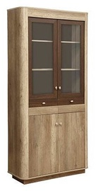 Olmeko Fantazija 34.05 Display Cabinet Canyon/Cagliari Oak