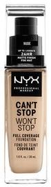 Tonizējošais krēms NYX Can't Stop Won't Stop CSWSF6.5 Nude, 30 ml