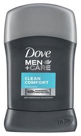 Vīriešu dezodorants Dove Men + Care Clean Comfort 48h, 50 ml