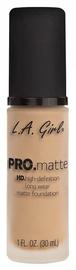 Tonizējošais krēms L.A. Girl PRO Matte Foundation Nude, 30 ml