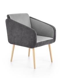 Atzveltnes krēsls Halmar Well Grey, 70x62x88 cm