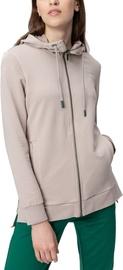 Audimas Lengthened Stretch Cotton Jacket Beige M