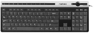 Natec Swordfish Slim Keyboard USB Black