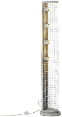 Brilliant Net 93422/70 Floor Lamp Gray 4x60W E27