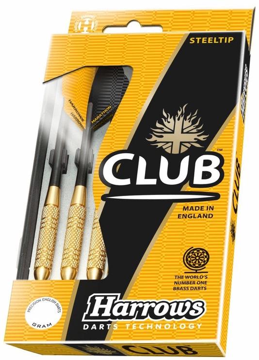 Harrows Club Brass Steeltip 21gK 3pcs