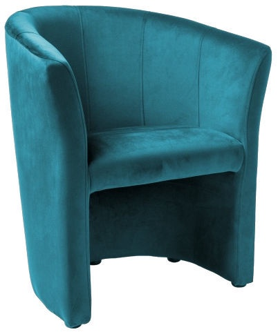 Кресло Signal Meble TM-1 Velvet Turquoise, 67x47x76 см